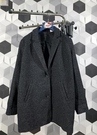 Шерстяное пальто levi's  левайс оригинал