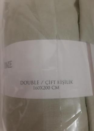 Комплект качественного постельного белья, полуторный, 100%хлопок5