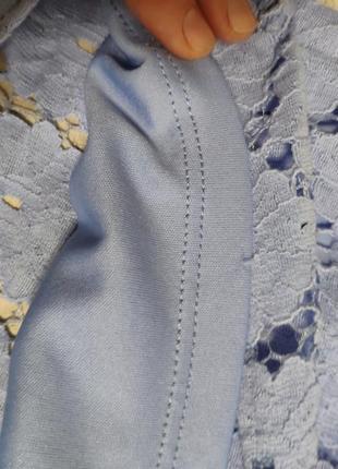 Нежное кружевное платье4