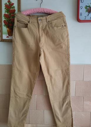 Узкачи джинсы карамель р 48-52