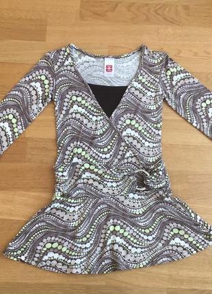 Блуза, кофточка here+there для девочки 134/140 см