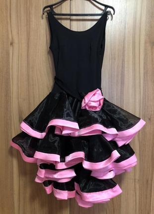 Платье латина для бальных танцев