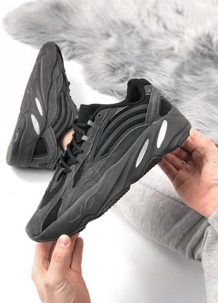 Шикарные женские кроссовки adidas yeezy 700😍 (весна/ лето/ осень), (мужские/ женские)