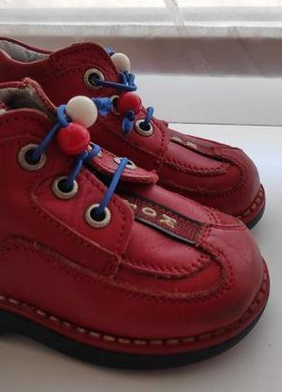 Детские кожаные туфли 18р bebetom