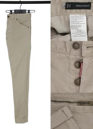 Мужские зауженные джинсы dsquared