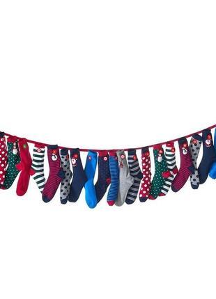 Комплект ярких носков носки 12 пар tcm tchibo германия европа оригинал
