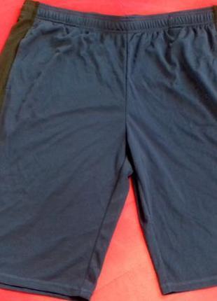 Синие новые функциональные / спортивные / баскетбольные шорты от crivit
