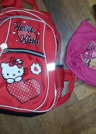 Рюкзак hello kitty от kite для вашей школьницы