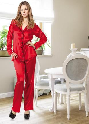 Пижама с брюками и рубашкой с длинным рукавом