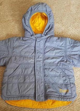 Фирменная детская куртка esprit 6 месяцев 68р