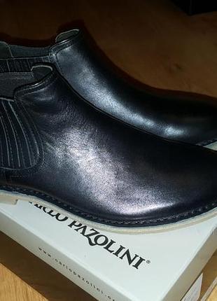 Ботинки мужские кожаные carlo pazolini р-р40
