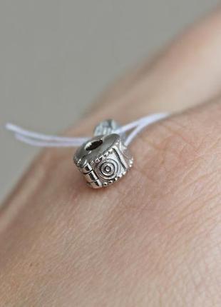 Серебряный стоппер для браслетов пандора