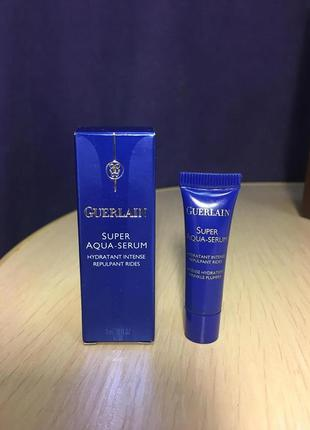 Cыворотка для лица guerlain super aqua-serum, 3 ml