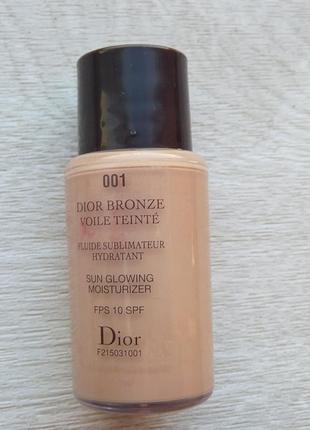 Увлажн бронз тональный крем dior bronze voile teinte sun glowing moisturizer spf 10