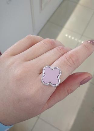 Серебряное кольцо с ювелирной керамикой