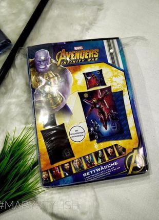 Постельный набор avengers мстители не распакован/не распаковываю
