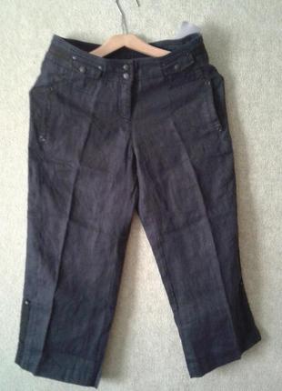 Новые льняные брюки x&more by brax,12 евр.
