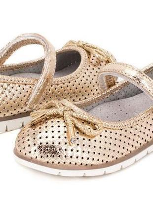 213fd8655942 Золотистые детские туфли 2019 - купить недорого вещи в интернет ...