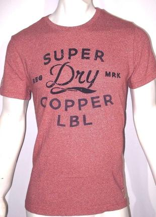 Футболка superdry by copper label