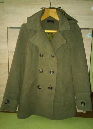 Женское пальто new look 40р1 фото