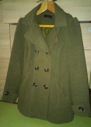 Женское пальто new look 40р3 фото