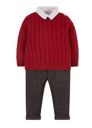 Шикарный костюм тройка от mothercare из англии. размер 5-6 лет
