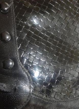 Дизайнерские ботинки на шнуровке stephane kelian