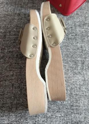 Scholl-очень удобная ортопедическая обувь!шлепки-размер 40-7.на любую ширину ноги.