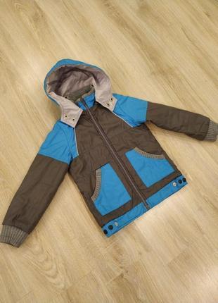Демисезонная курточка для мальчика тм luxik.