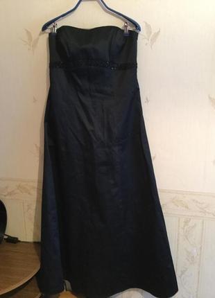 Шикарное вечернее платье на чехле
