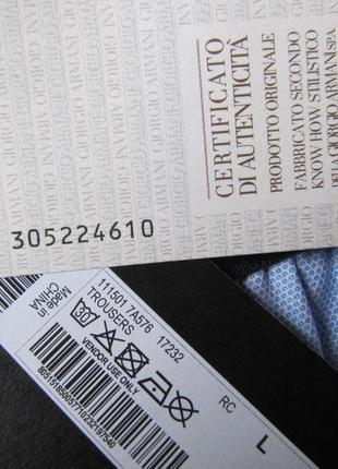 Emporio аrmani брюки р. 50 l новые оригинал штаны5