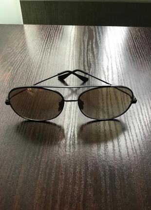 Винтажные очки овальной формы