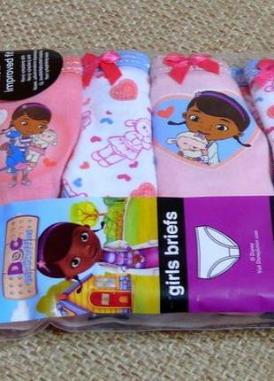 Набор трусиков девочкам от 2 до 6 лет из англии