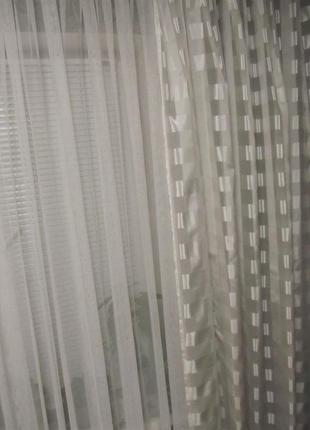 Комплект готовых штор  2,8 м х 2,48 м (тсм tchibo, германия)