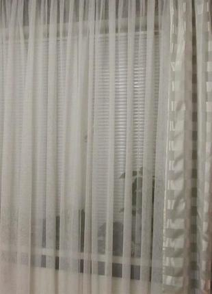 Комплект готовых штор  2,8 м х 2,48 м (тсм tchibo, германия)3 фото