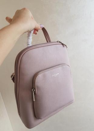 Розовый рюкзак david jones
