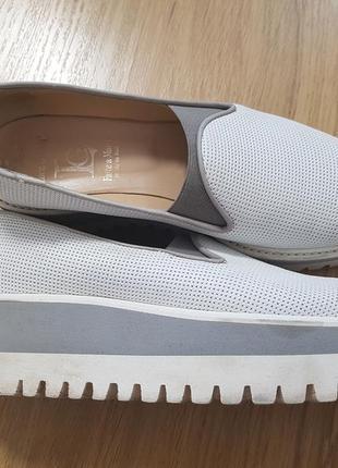Стильные слипоны, туфли, италия, р.37- 38