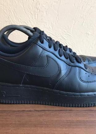 """Кроссовки nike air force 1 low 07 """"all black"""""""