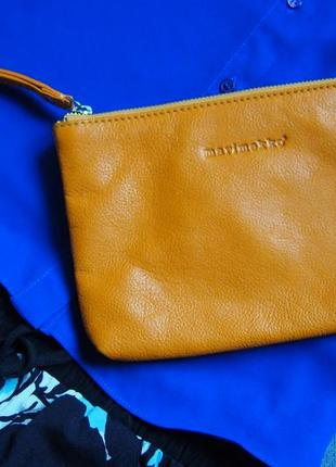 Солнечный клатч сумка косметичка кошелек marimekko