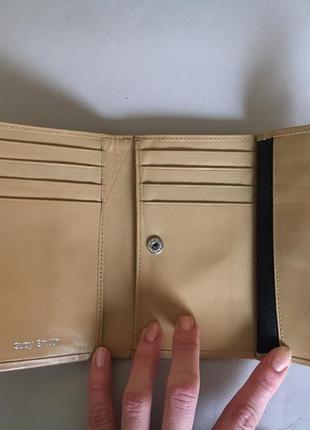 Кожаный кошелёк jane shilton