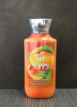 Лосьон для тела bath and body works - white peach sangria