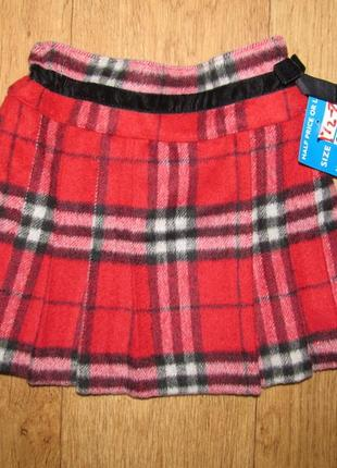Фирменная новая юбка next девочке 1,5-2 года,пояс 23,длина 27
