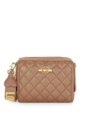 Шикарная брендовая сумка love moschino!