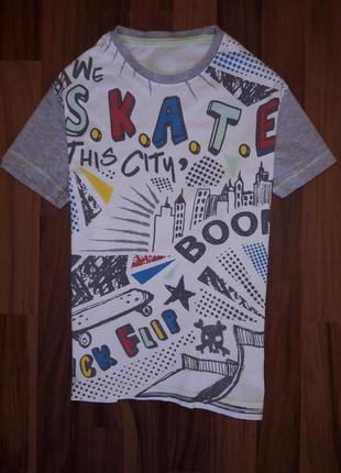 Клевая футболка р 9-10лет