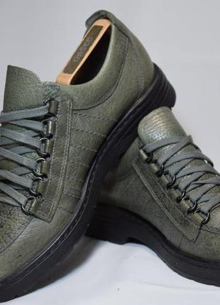 Туфли ботинки fretz men / mephisto. швейцария. оригинал. 41 р./26.5 см.