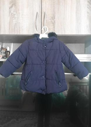 Курточка zara для дівчинки