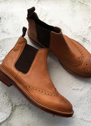 Оригинальные ботинки броги country walkers
