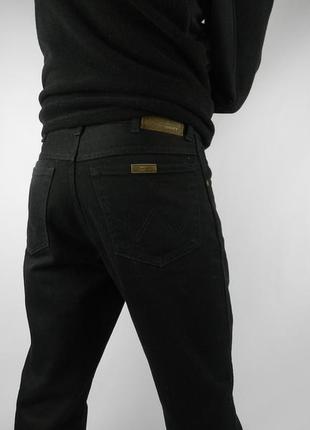 Wrangler джинсы черные, 32х30