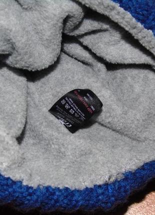 Шапка синяя,салатовая,серая полоски для близнят,двойнят, 134,140, 9-10 лет4 фото