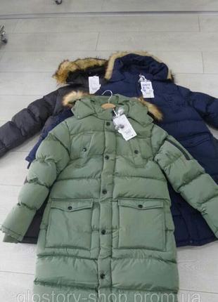 Куртки-пальто зимние.  цена 2018 года. grace. венгрия